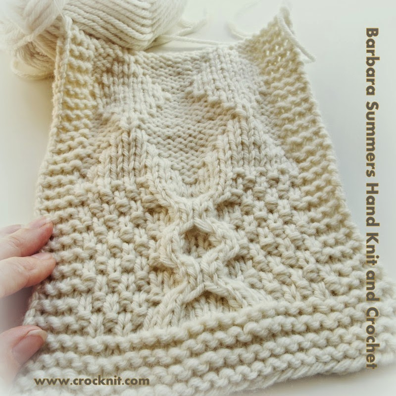 MICROCKNIT CREATIONS: DIAMONDS are forever knit into a PONCHO