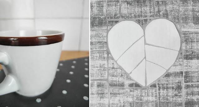Środowe Inspiracje Magia mozaiki insprujące blogi handmade taca z mozaiką