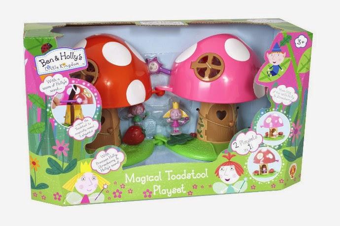 JUGUETES - BEN & HOLLY - Seta Mágica  Ben & Holly's - Little Kingdom | El pequeño reino de Ben y Holly  Producto Oficial | Bizak 62906863 | A partir de 3 años