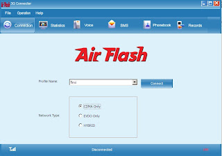 Cara Setting Modem AirFlash Flexi