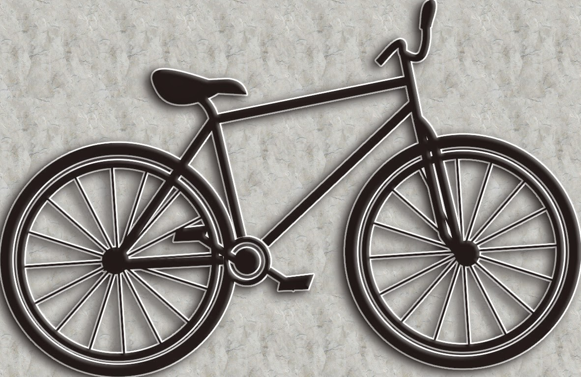 Drawing Lines In Coreldraw : Drawing simple lines a shape of bicycles