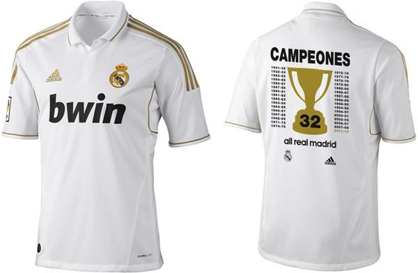 camiseta Real Madrid Campeón de Liga 2012