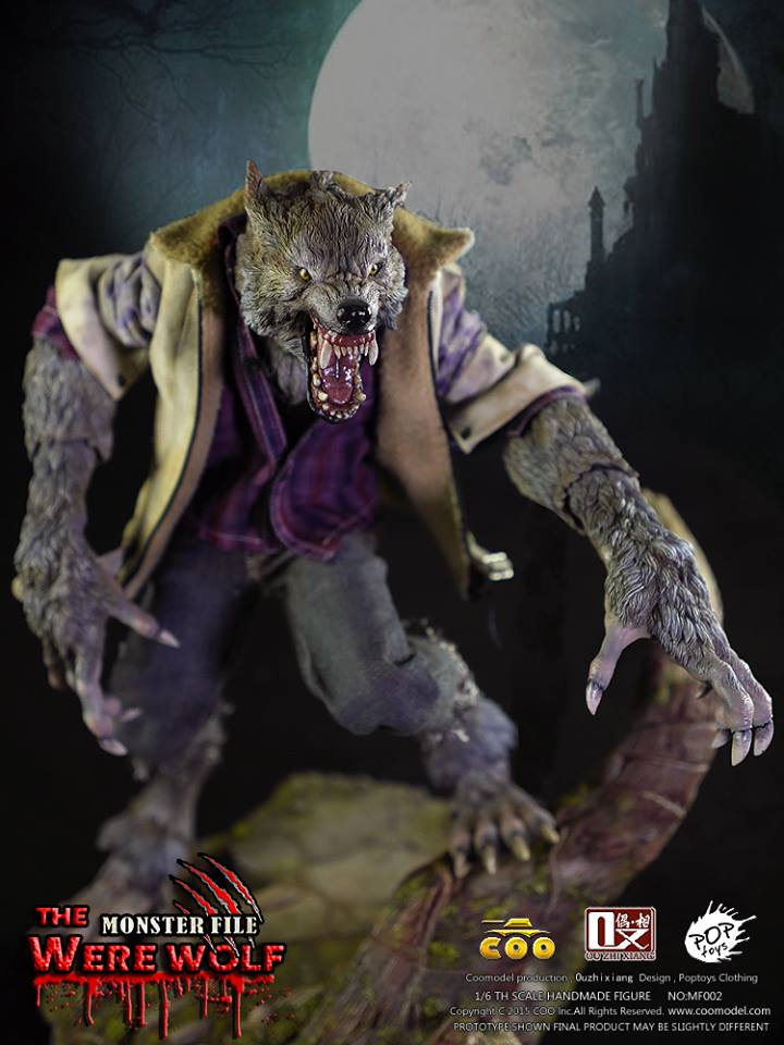 COOMODEL X OUZHIXIANG - Monster File Series - The Were Wolf E18