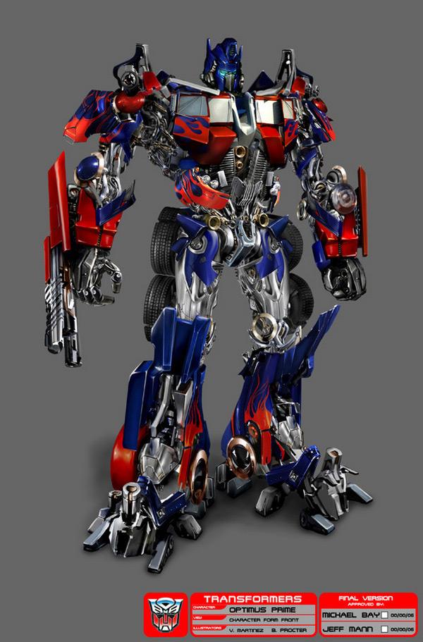 Transformers arte conceito revoltado por natureza - Optimus prime dessin ...