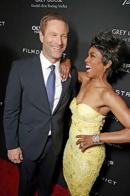 Aaron Eckhart and Wife