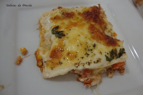 Lasanha de Frango Mineira com Bechamel de Provolone