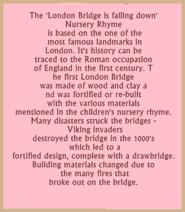 London Bridge Is Falling Down Word Scramble