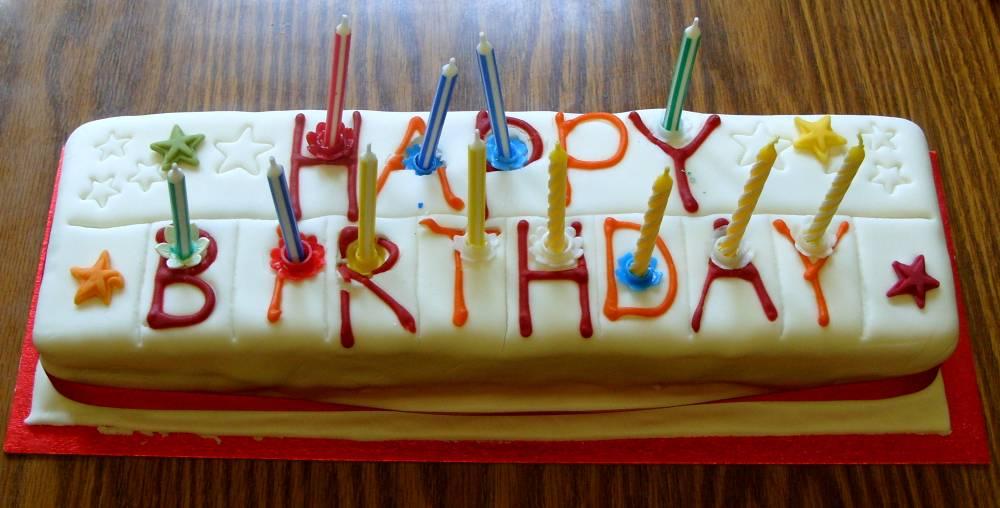 Th Birthday Cakes Tesco