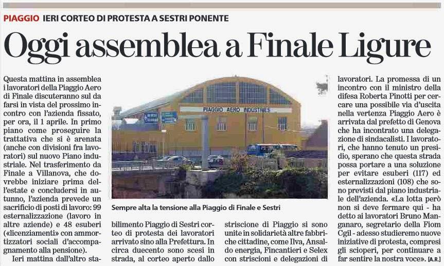 Club Forza Italia - Forza Silvio Albenga e Leca (SV): marzo 2014