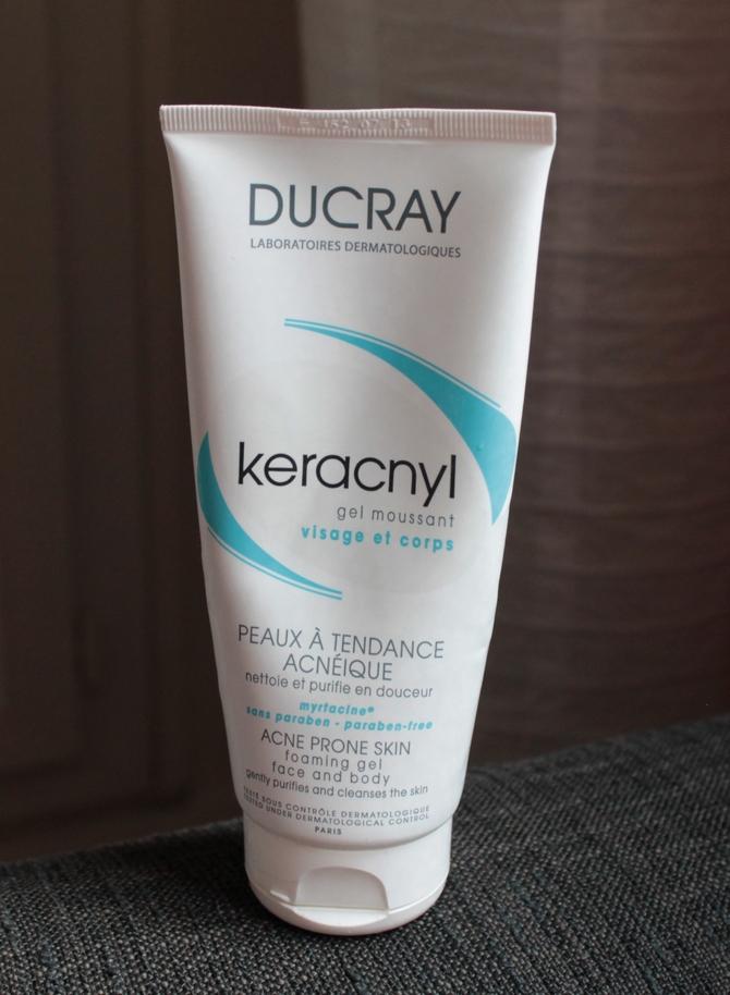 keracnyl gel moussant visage et corps avis