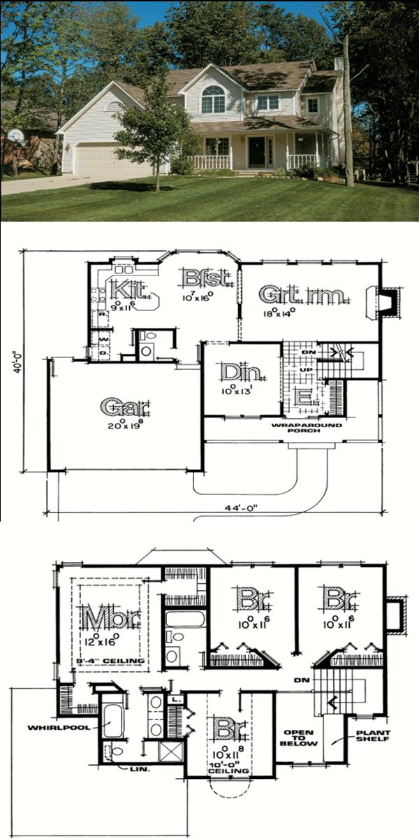 Fachadas de casas estilo americano car interior design - Fachadas de casas de campo ...
