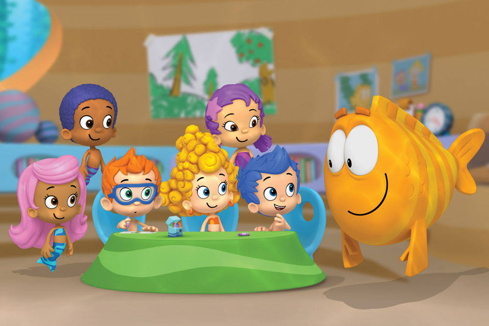 Bubble Guppies Cartoon Picture
