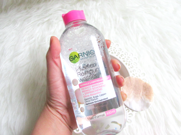 Garnier Micellar cleansing water for normal to sensitive skin - review