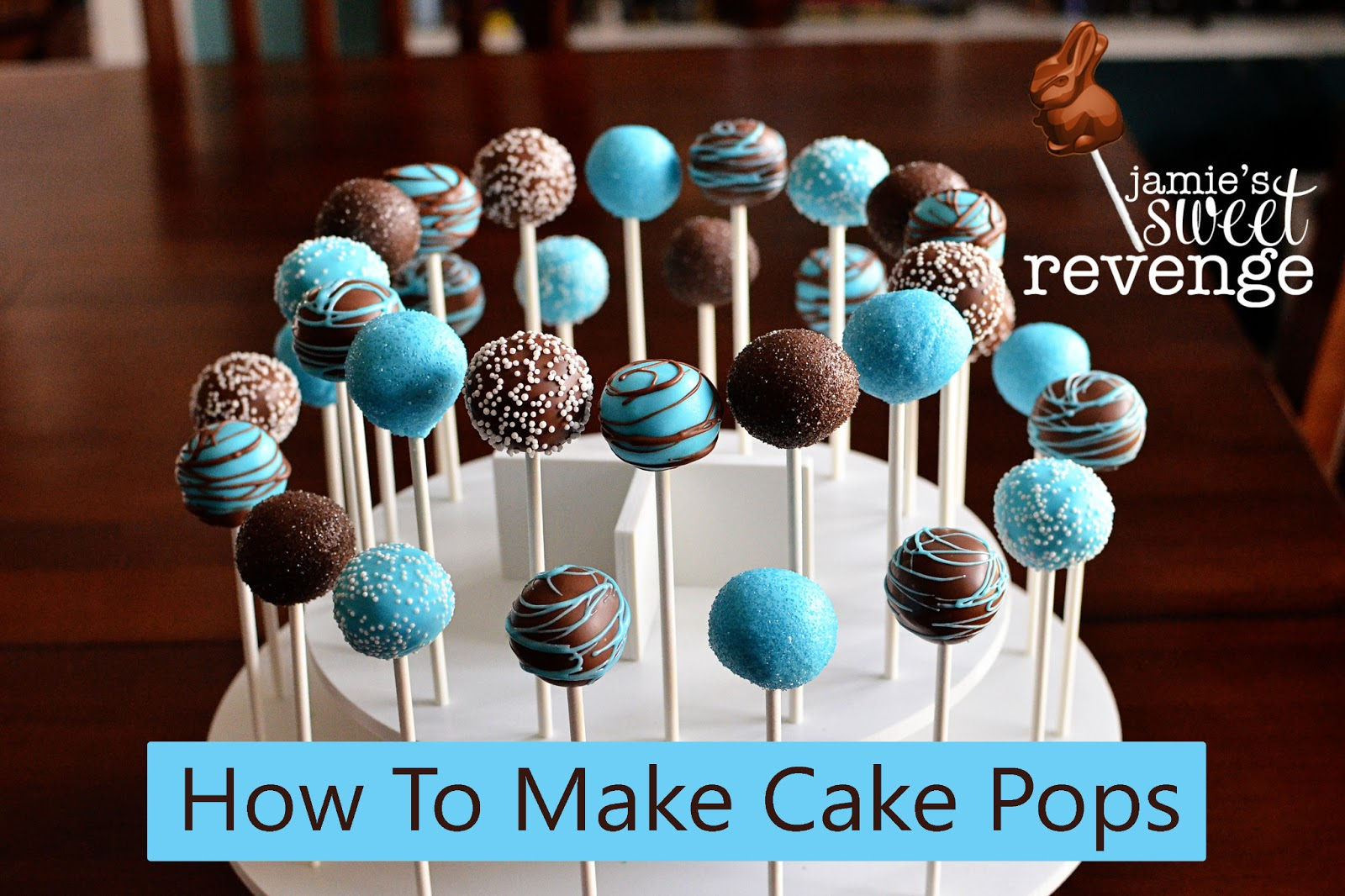 jamie 39 s rabbits the post about how to make cake pops. Black Bedroom Furniture Sets. Home Design Ideas