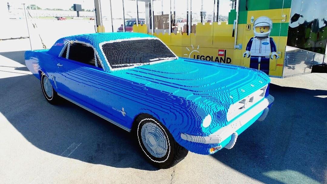 Lego My Mustang