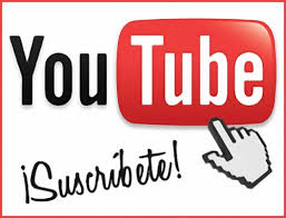 ¡Suscríbete a mi Canal de Youtube!