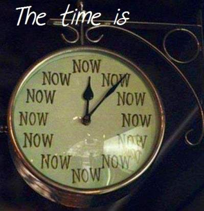 THE TIME NOW