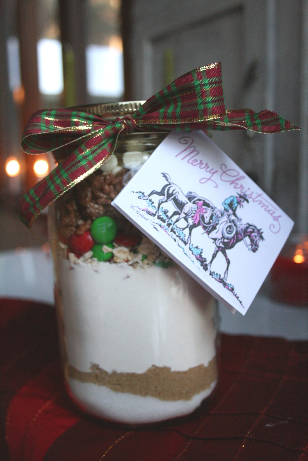 The Nesting Corral Homemade Christmas Gifts Cookies In A Jar: homemade christmas gifts