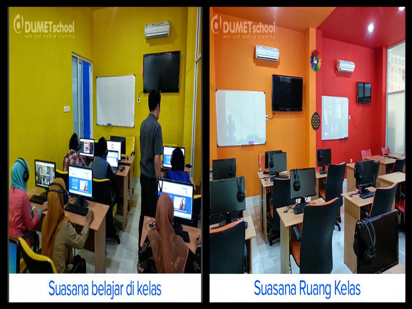 Suasana Ruang Kelas dan Belajar