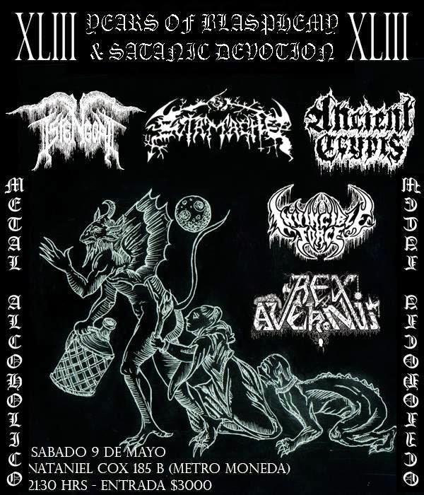 Years Of Blasphemy & Satanic Devotion XLIII