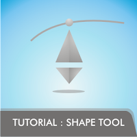 Tutorial CorelDRAW4 - Dasar (3) : Shape Tool