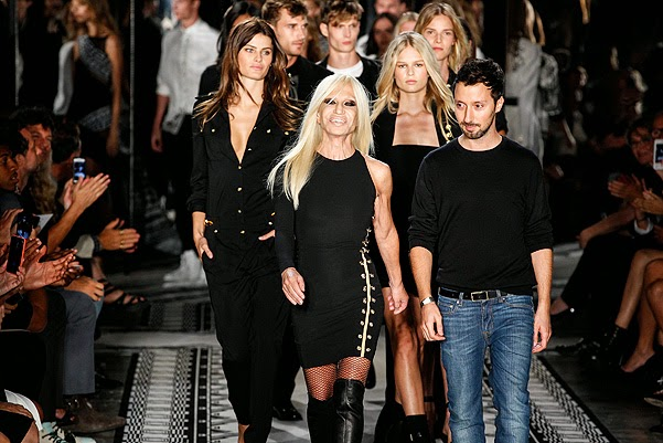 Fashion Week in New York_Anthony Vaccarello show Versus Versace