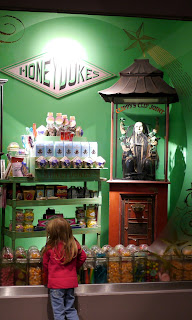 Image of Honey Dukes Shop Window at WB Harry Potter Studio Tour in London