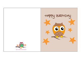 happy birthday print cards