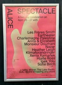 Spectacle Festival / Alice. 11. april 2019