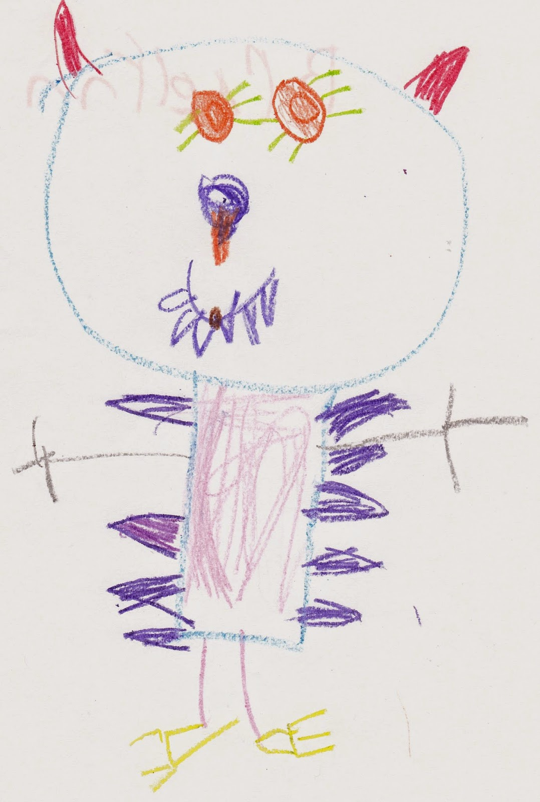 how to draw a gruffalo