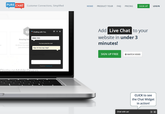 Live Chat Support Widgets for Blogger Blog
