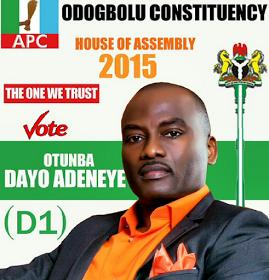 dayo d1 adeneye politics