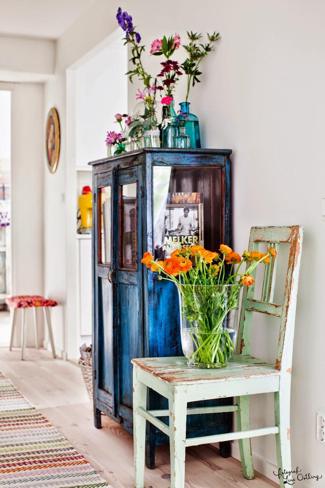 Vintage: karolina , patrik och alfons hem i drömhem & trädgård