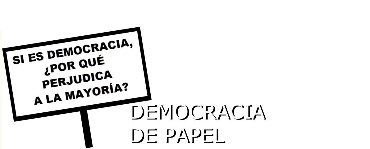 Democracia de papel