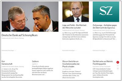 Web2-Unterricht: Lektüre-/Schreibprojekt: Zeitungskommentare