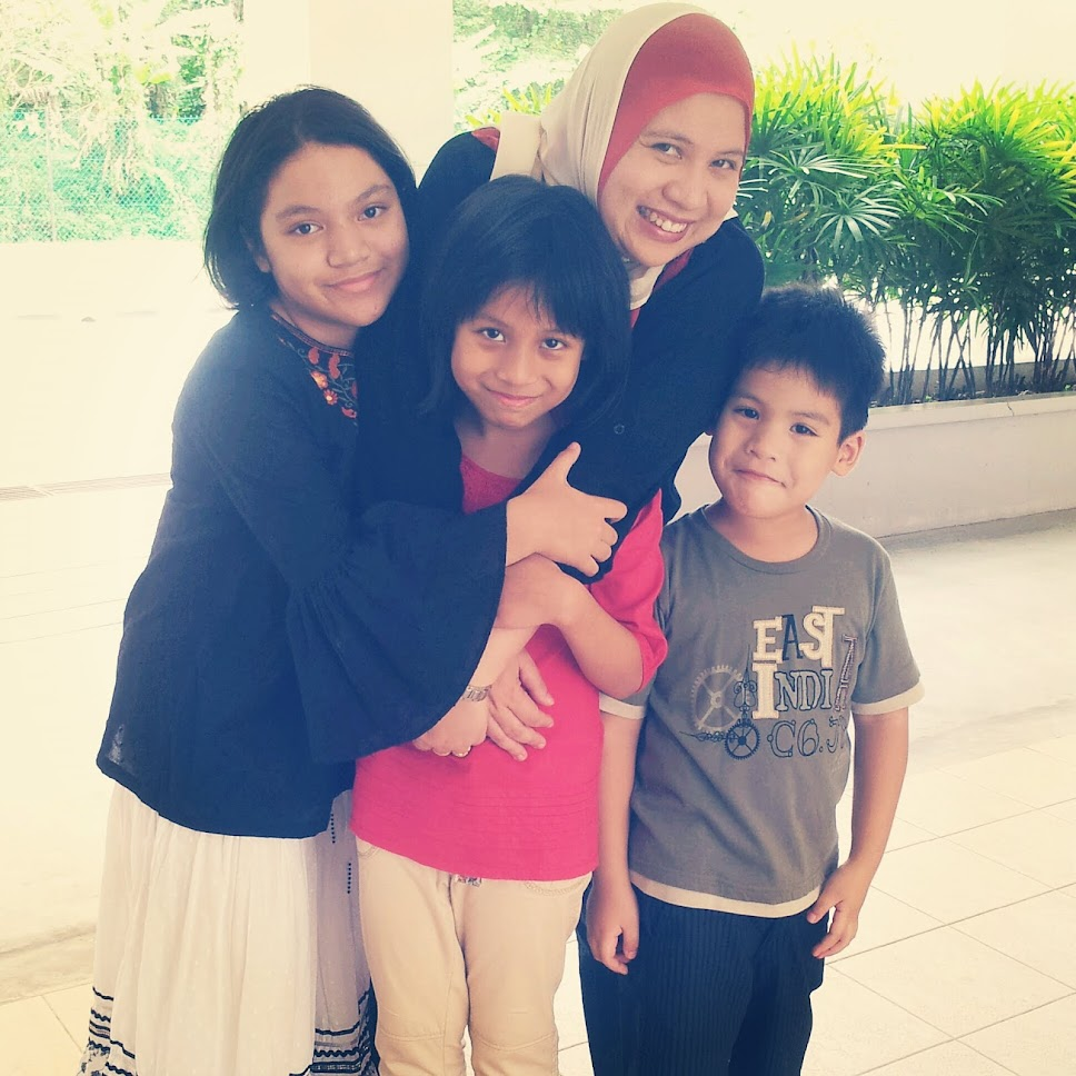 Me, Hubby & Our Beloved kids