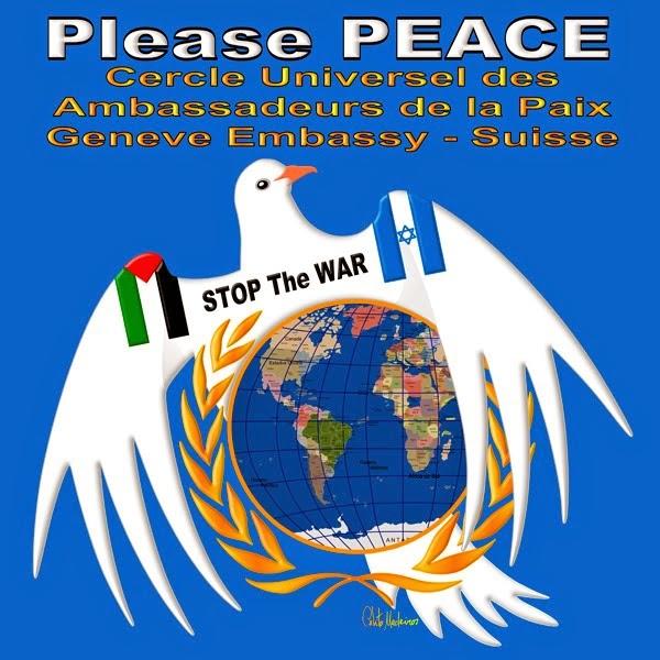 ¡¡ NO A LA GUERRA!! DESDE EL CIRCULO DE EMBAJADORES DE PAZ DE GINEBRA_SUIZA