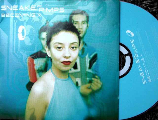 Sneaker Pimps -  Becoming X ~ Limited Edition  on Clean Up Records / Virgin Schallplatten 1996