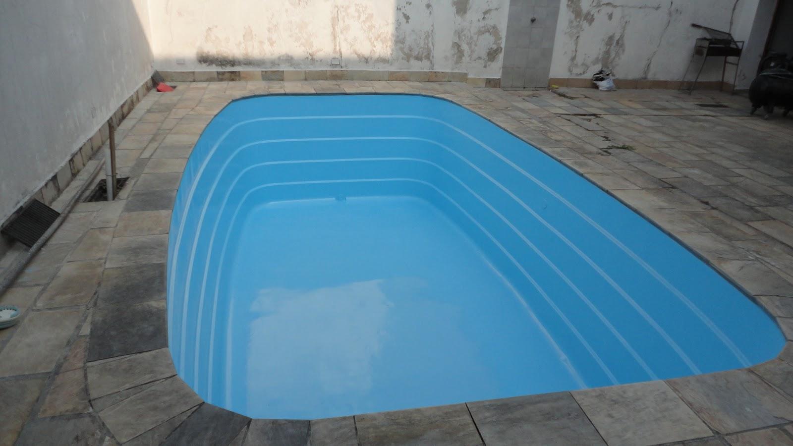 Cooper fibra banheiras pintura de piscinas for Piscina de fibra 3 por 4