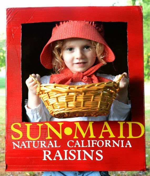 Sun Costume Diy Sun-maid Raisin Costume From