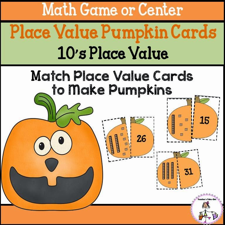 Place Value Pumpkins to 10s Place