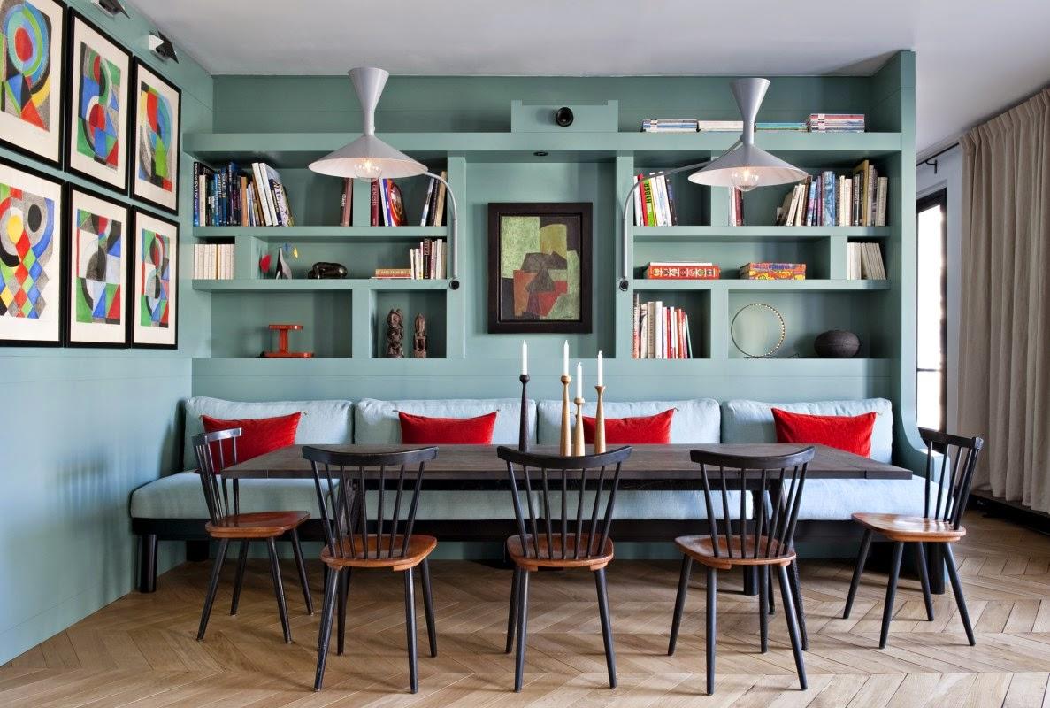 Scandimagdeco le blog visite d 39 un appartement parisien - Visite d un appartement ...