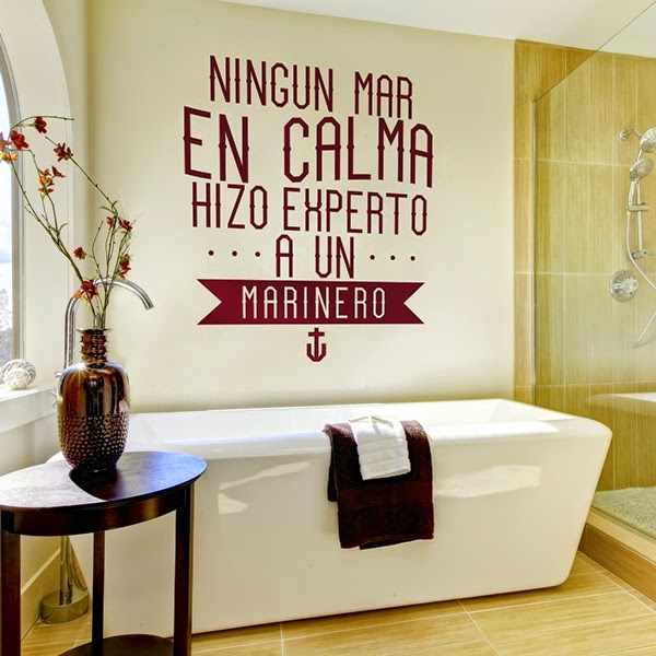 Papel pintado vinilos decorativos textos for Papel vinilo pared