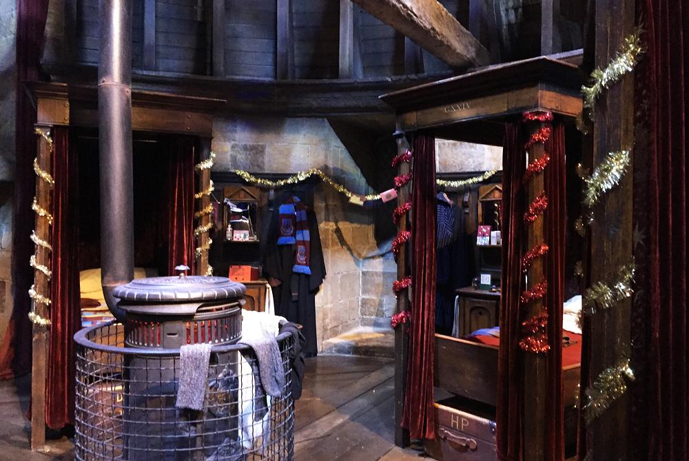 Warner Bros Studio Tour The Making of Harry Potter - Gryffindor Boys Dormitory