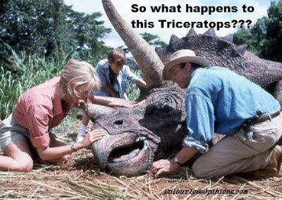 triceratops jurassic park