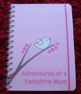 Yorkshire Blog, Mummy Blogging, Parent Blog, Personal Planner, Personalised, Planner, Review,