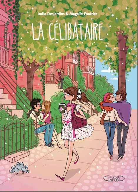 La Célibataire India Desjardins Magalie Foutrier bande dessinée québécoise BD Québec