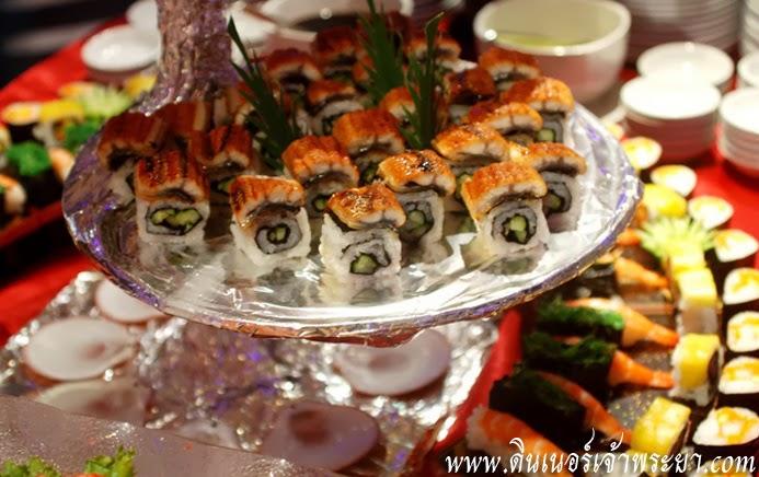 บุฟเฟ่ต์อาหารญี่ปุ่น แกรนด์เพิร์ล ดินเนอร์ ครุยส์ ล่องเรือ เจ้าพระยา แกรนด์เพิร์ล ดินเนอร์ หรูโรแมนติก