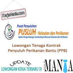 Lowongan Tenaga Kontrak Penyuluh Perikanan Bantu (PPB)