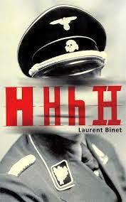 Book cover of HHhH by Laurent Binet, reinhard heydrich